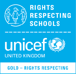 Unicef gold rights resepcting schools award logo