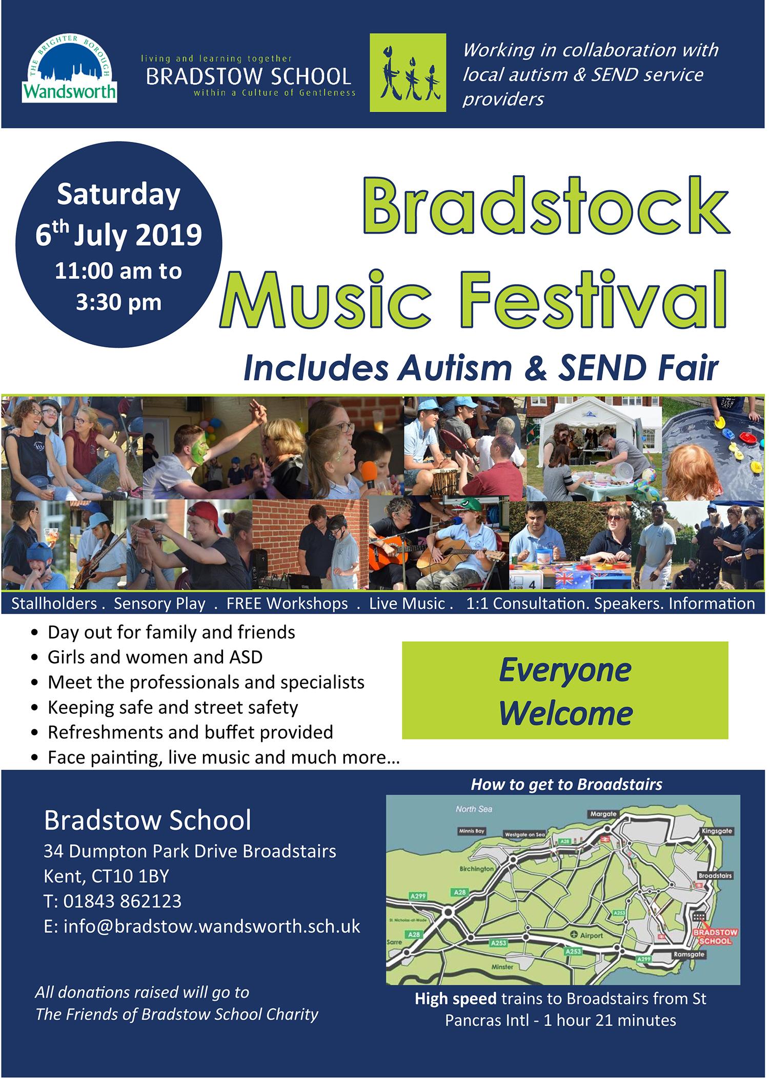 Bradstock music festival july 2019