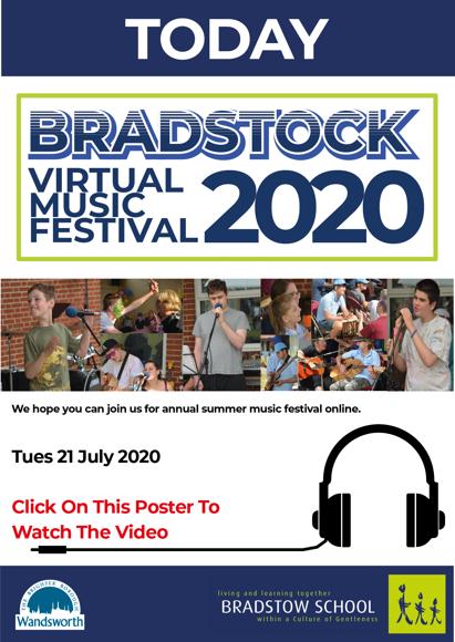 Bradstock Virtual Music Festival 2020