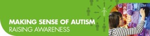 Making sense of autism button