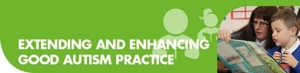Extending and enhancing good autism practice button