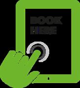 Book here logo