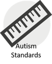 Autism standards logo